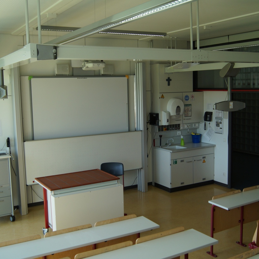 Einer der Chemiesäle