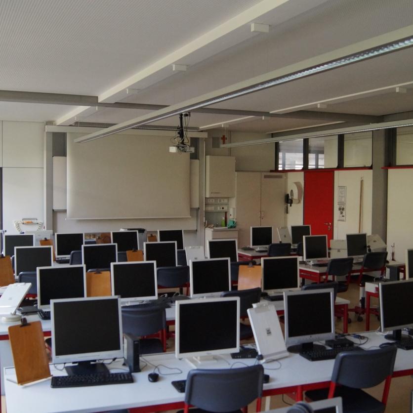 Einer der drei IT-Räume